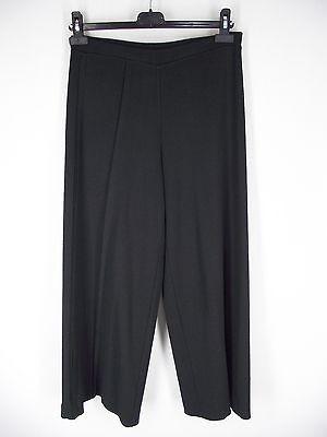 CREA CONCEPT Blk Heavy Knit Pants S Merino Wool Blend Travel Lounge