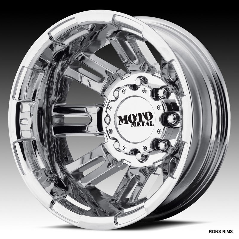 METAL CHROME 963 DUALLY 16 X 6 CHEVY GMC DODGE WHEELS JUST IN