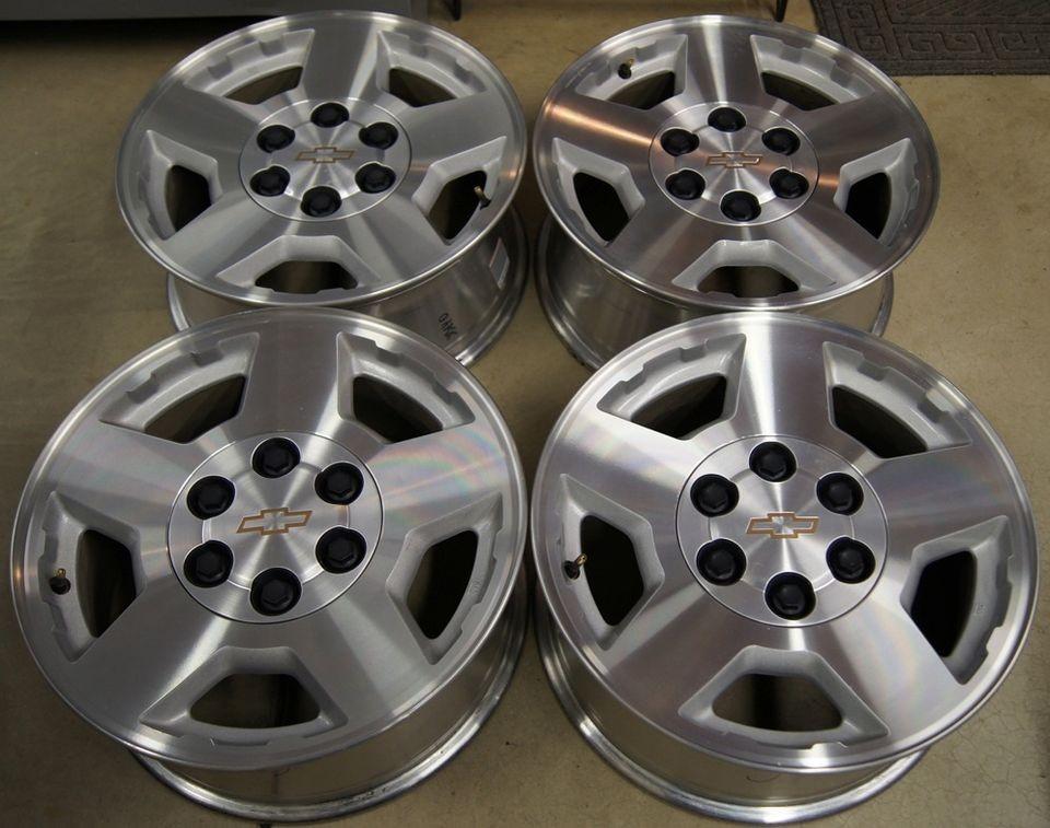 Chevy Silverado Suburban Tahoe Avalanche Factory OEM 17 Wheels Rims