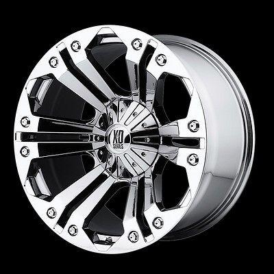 Chrome Rims Wheels Chevy Truck Silverado 1500 Tahoe Suburban Avalanche