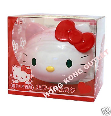 Hello Kitty car air freshener fragrance Japan Sanrio Product E26a