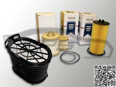 FORD 6.0L TURBO DIESEL AIR FILTER, OIL FILTER AND FUEL FILTER KIT