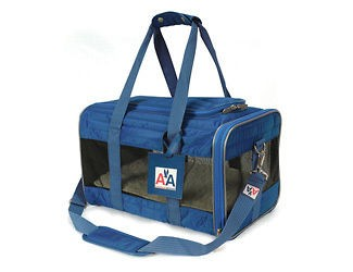 AA American Airlines Pet Dog Cat Carrier Bag Crate M 16lbs Airline