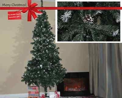 Frost Snow White Artificial Christmas Tree 1100 Branch Tips Count