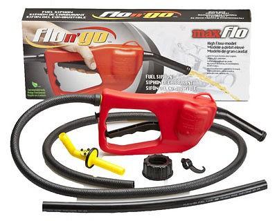 08338 Maxflo Gasoline Siphon / Fuel Transfer Pump fits 5 Gallon Cans