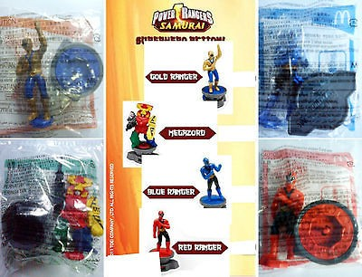 Power Rangers Samurai 2012   Gold, Megazord, Blue, Red (Choose Any 1