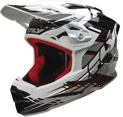 Default Black Full Face Helmet BMX Bike Bicycle FreeRide Snow MTB
