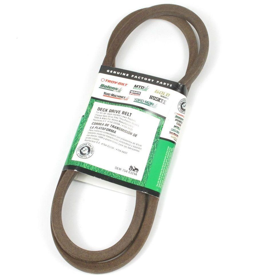 Mtd Lawn Tractor Belts : Mtd deck drive belt for lawn mower a