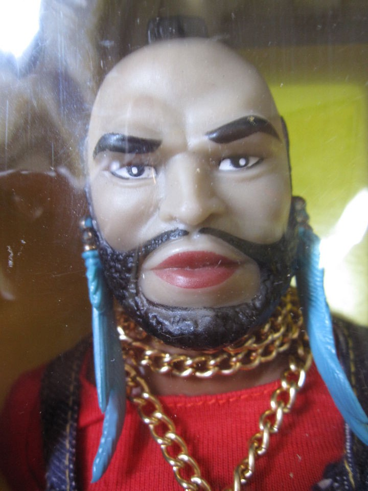 mr t doll in Action Figures