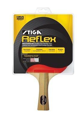 NEW Stiga Reflex 2 Player Ping Pong Paddle Set Table Tennis Racket