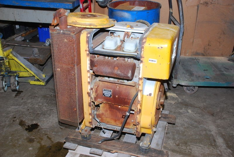 FOR PARTS, Hatz Diesel Engine 2L40C, FOR PARTS INV=8167