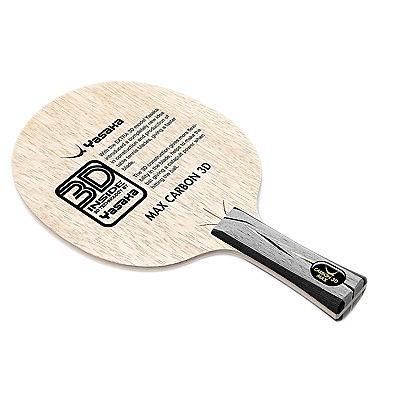 Yasaka Carbon 3D MAX blade table tennis racket rubber