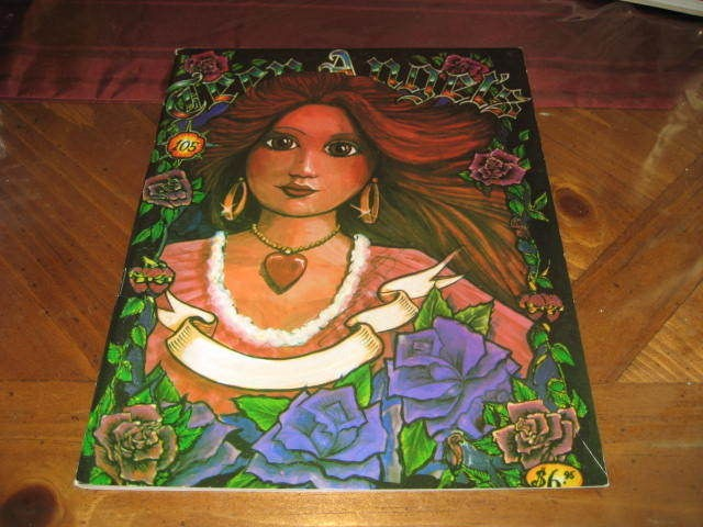 Vintage Teen Angels Magazine #105   Chicano Art Cholo Gangster Poems
