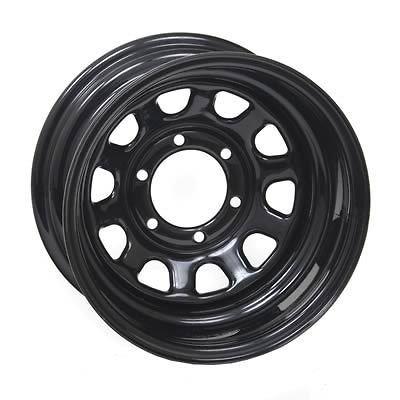 Xtreme Rock Crawler Series 52 Black Steel Wheel 16.5x9.75 8x6.5 BC