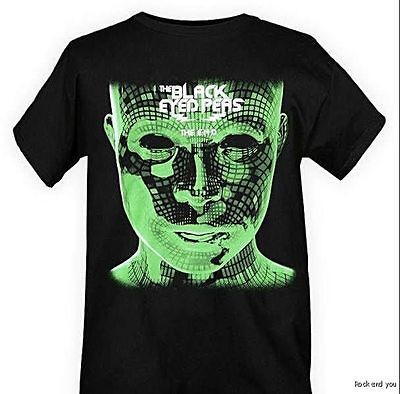 Black Eyed Peas Electro hop rock T Shirt M L 2XL NWT