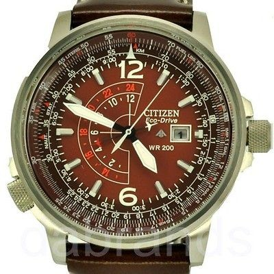 New Citizen Promaster Eco Drive Pilot Watch BJ7017 BJ7017 17W