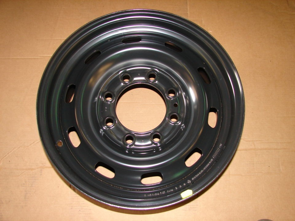 17 Dodge Ram 2500 3500 8 lug steel wheels rims 2185 2003 2012