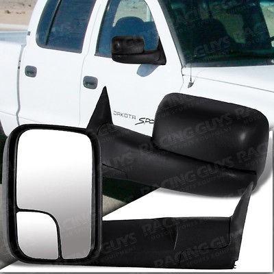 Dodge Ram Pickup Truck Towing Manual Side View Door Mirror Passenger