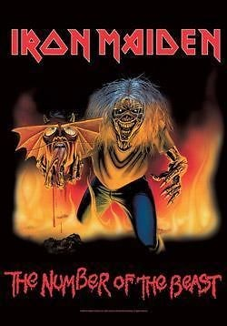 Iron Maiden Beast NEW Fabric Poster Tapestry Piece of Mind Killers