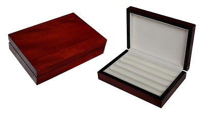 Newly listed CHERRY CUFFLINK RING STORAGE CASE CUFF LINKS MENS JEWELRY