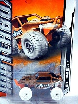 matchbox off road rider rock crawler buggy w snow time