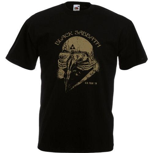172 The Avengers Stark Black Sabbath 1978 Tour 7 Colours T shirt S