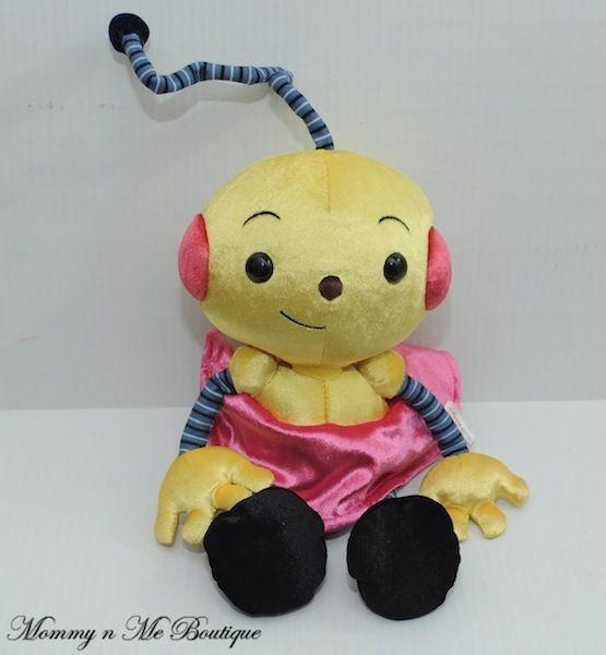 Disney Junior ROLIE POLIE OLIE ZOWIE Girl Stuffed Plush Beanbag Toy