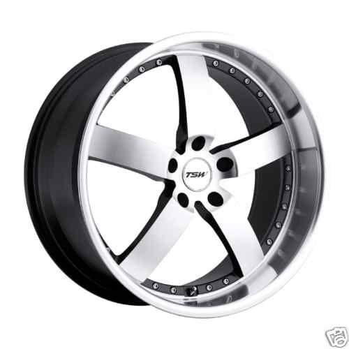 20 TSW Vairano Gunmetal 5 Lug Wheels Rims Dodge Charger Challenger
