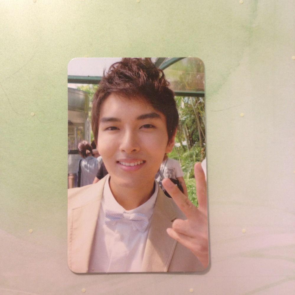 Super Junior Ryeowook Bonamana Ver. B Photocard