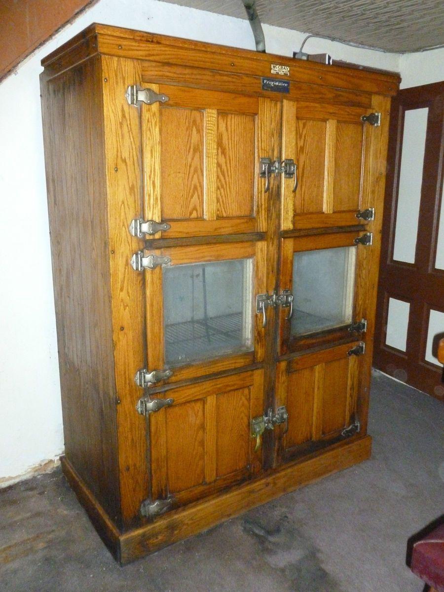Antique Oak Ice Box Refrigerator Best 2000 Antique