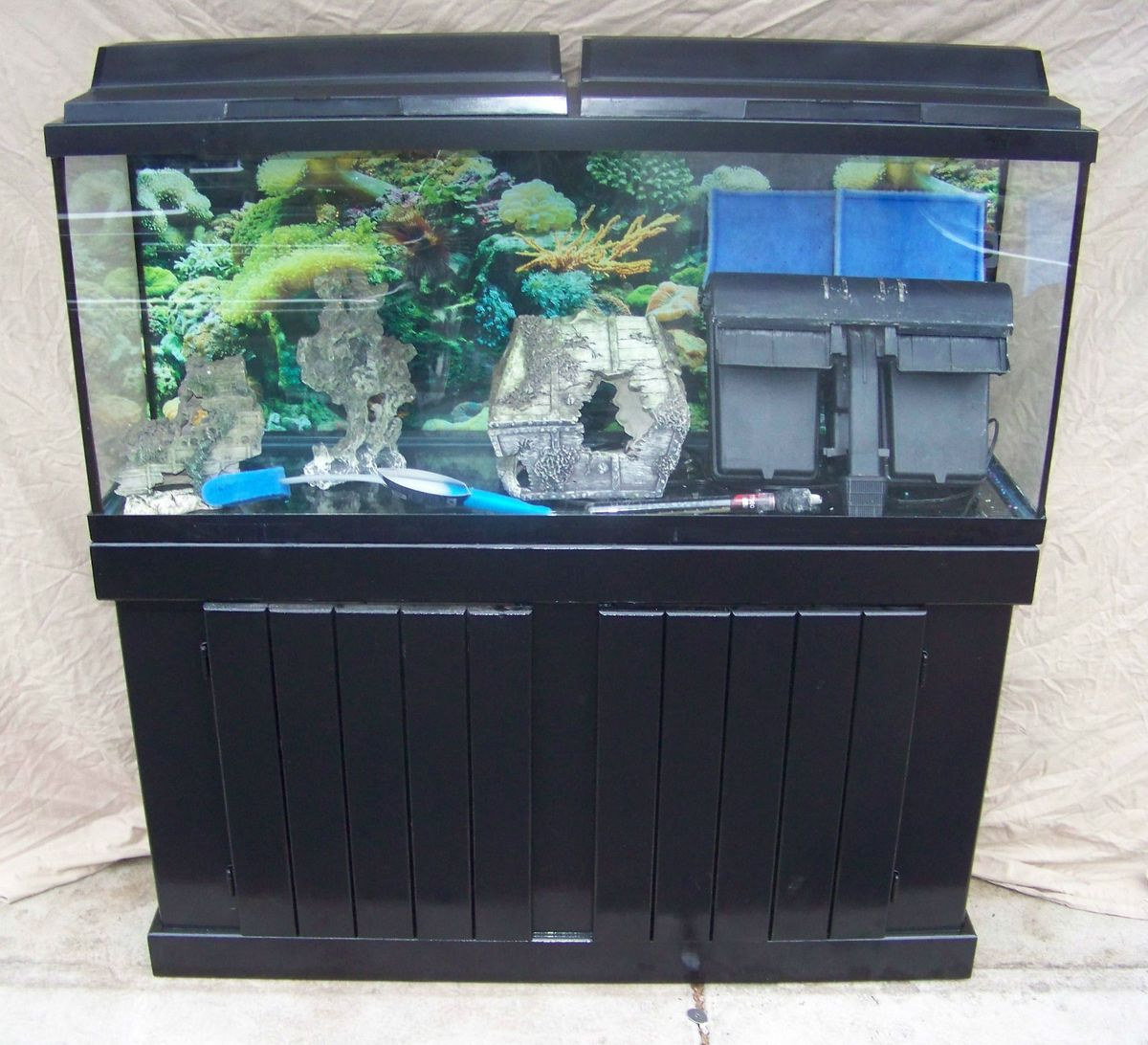 55 gallon fish tank and stand complete 55 gallon fish for 55 gal fish tank stand