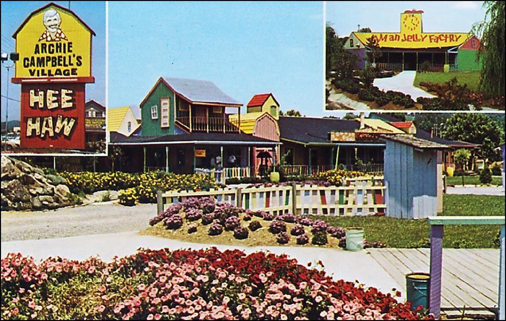 Roadside Archie Campbells Village Hee Haw Pigeon Forge TN Hillbilly
