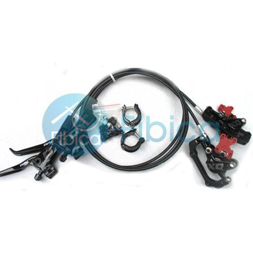 New 2013 SRAM Avid Elixir X0 x 0 XO Hydraulic Disc Brake Set Black