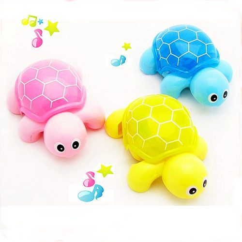 Baby Toddler Kids Electric Crawl Toy Gift Music Tortoise Light Turtle