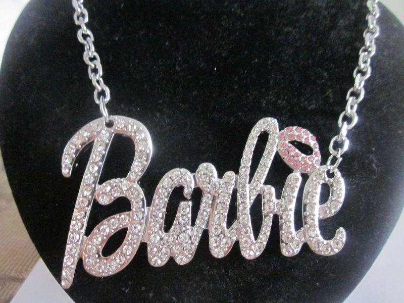 Iced Out Nicki Minaj Barbie Pendant Necklace Hip Hop