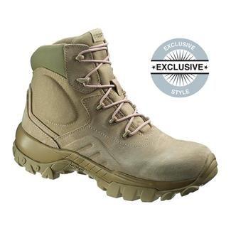 MENS BATES DELTA 6 DESERT TAN BOOTS (us military tactical army combat