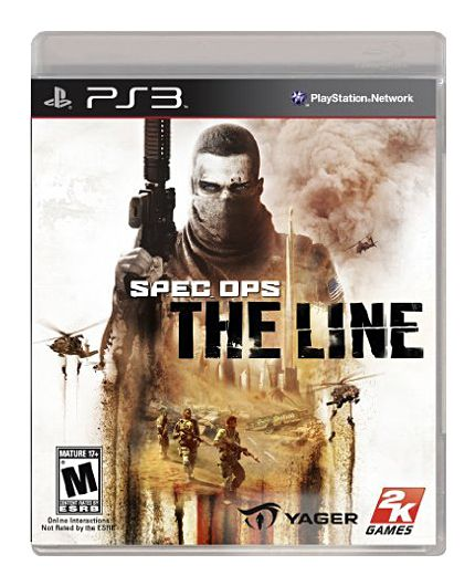 Spec Ops The Line Sony Playstation 3, 2012