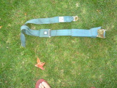 67 68 69 70 71 72 Chevy GMC truck Suburban seat belt seatbelt Blue