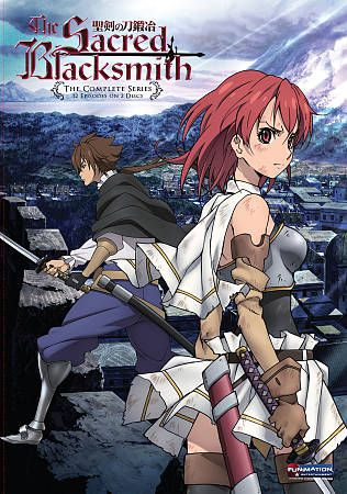 The Sacred Blacksmith The Complete Series DVD, 2011, 2 Disc Set