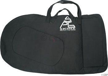 skinz softshell travel 29r bicycle case black
