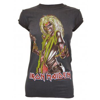 Iron Maiden Killers Rock T Shirt Amplified Womens New