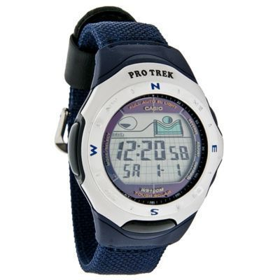 Casio PROTREK Pathfinder Solar Alarm Watch PRS201B 2V