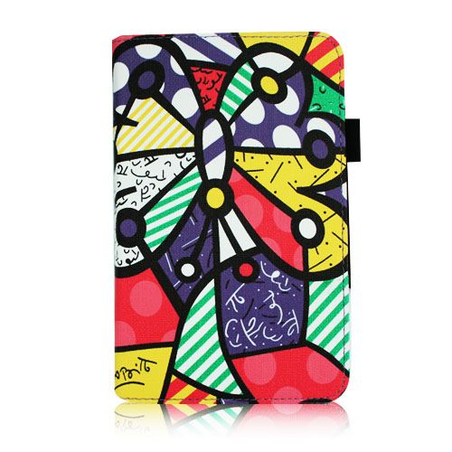 Kindle Fire 7 inch PU Leather Folio Case Cover Protector Stand