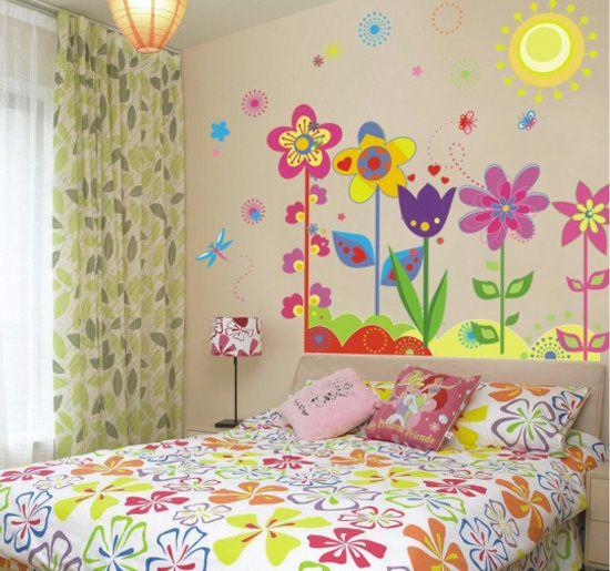Reusable Wall Stickers DIY Mural Decals Home Decor Vinyl Art Themed