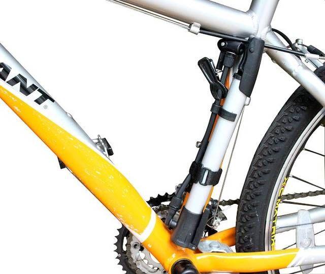 Tool Bicycle Inflator Portable Frame Bike Cycling Air Pressure Pump