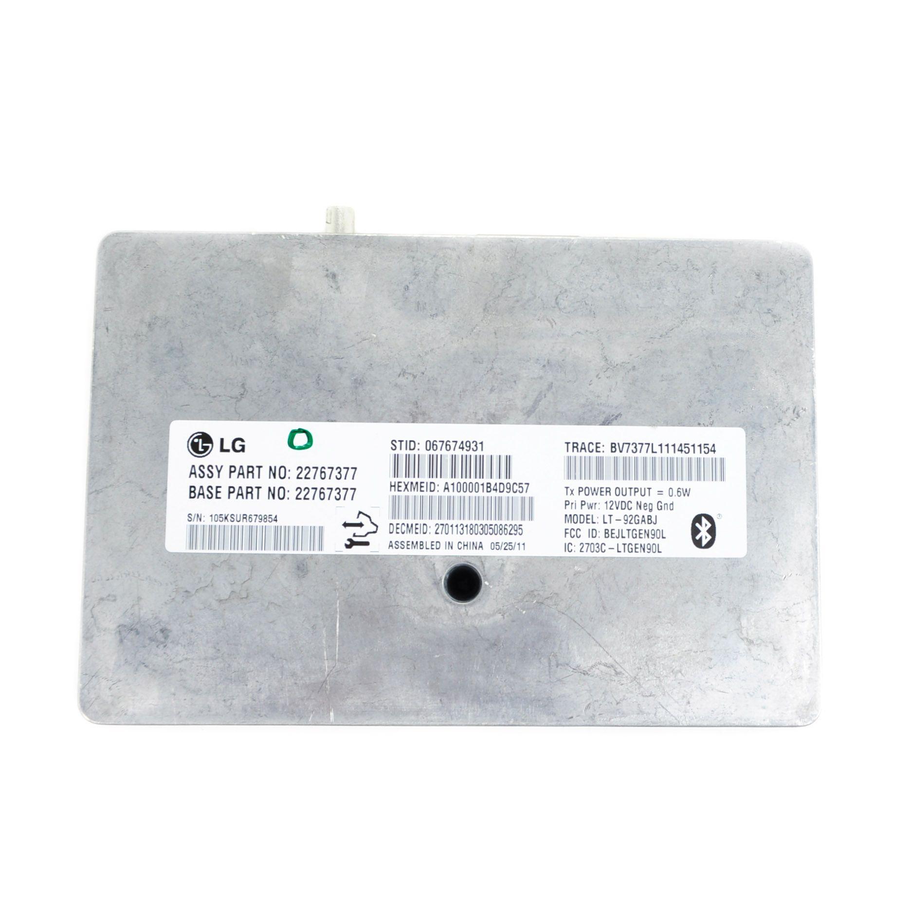 2012 Silverado Sierra Yukon Tahoe Bluetooth OnStar Module Gen 9 2 VCIM