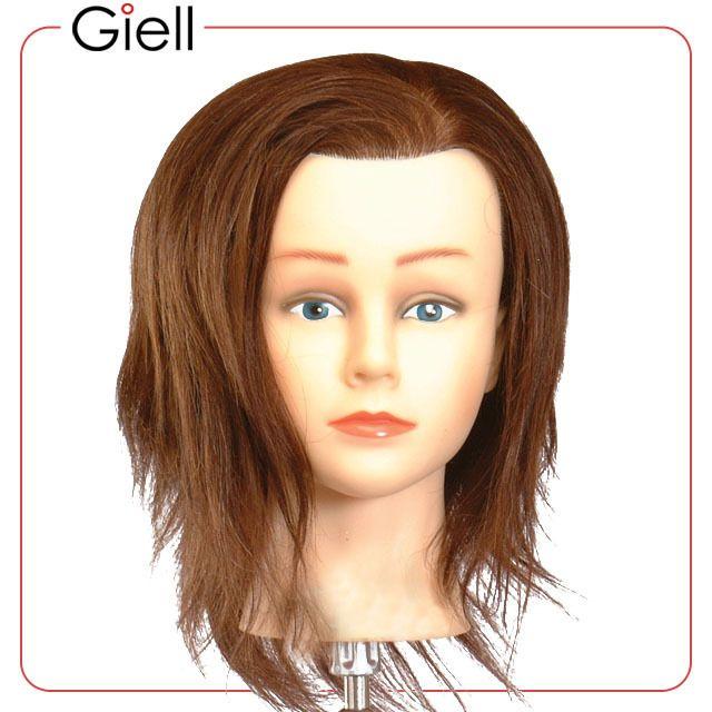 19 Cosmetology Mannequin Head Human Hair Bridgette