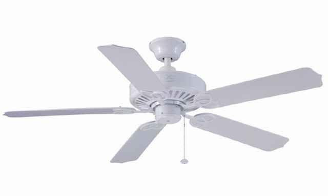 New harbor breeze 52 calera white ceiling fan indoor outdoor energy aloadofball Image collections