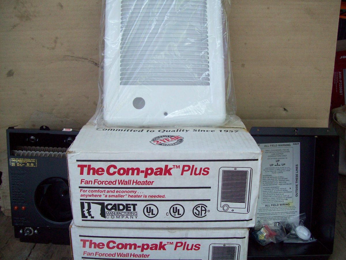 Cadet Manufacturing XC152TW Electric Wall Heater 1 500 Watts