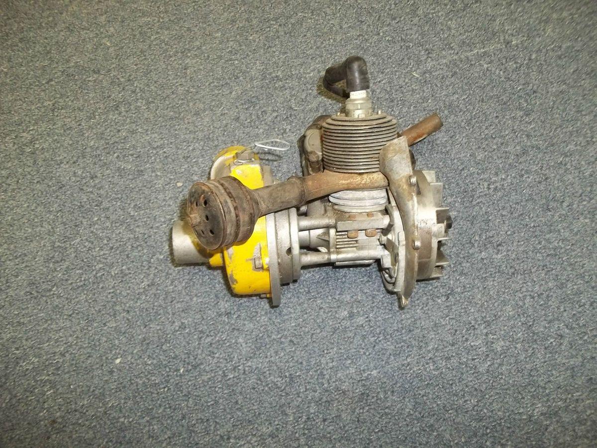 Keene EGN Co 1 Gold Mining Pump Gas Engine RC Dredge Sluice